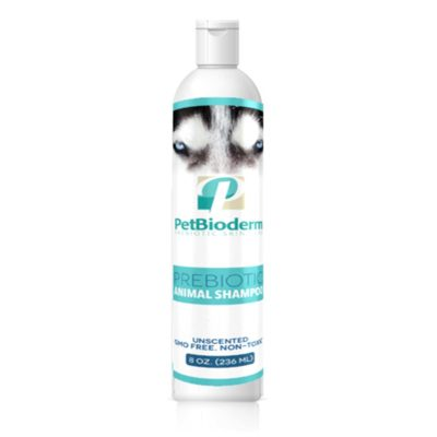 cbd petbioderm prebiotic pet wash