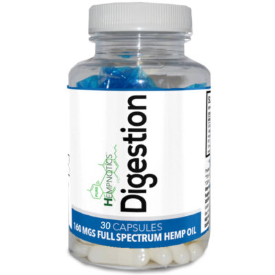 digestion capsules bottle
